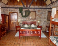 A room at Antelope Park in Gweru, Zimbabwe