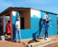 Swaziland building volunteer